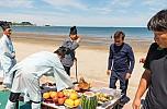 2018 춘장대해수욕장 개장식 수신제 및 해변풍경