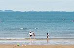 2018 춘장대해수욕장 개장식 해변풍경